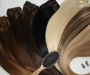 прически с накладными волосами фото